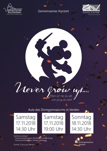 Vielharmonie Kirchlinteln Präsentiert Songs Von Disney